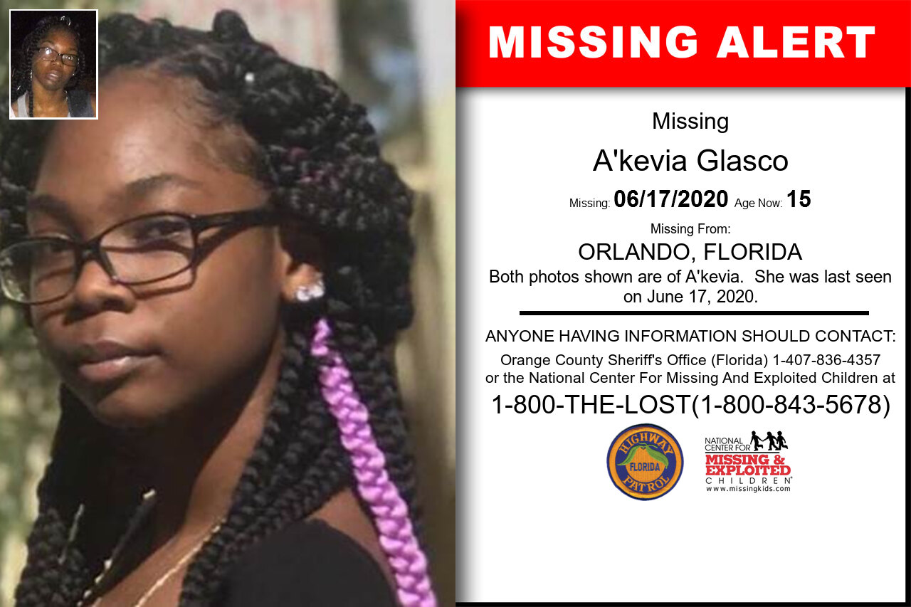 A'kevia_Glasco missing in Florida