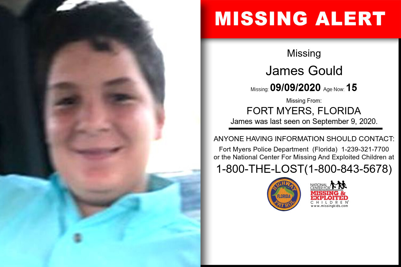 James_Gould missing in Florida