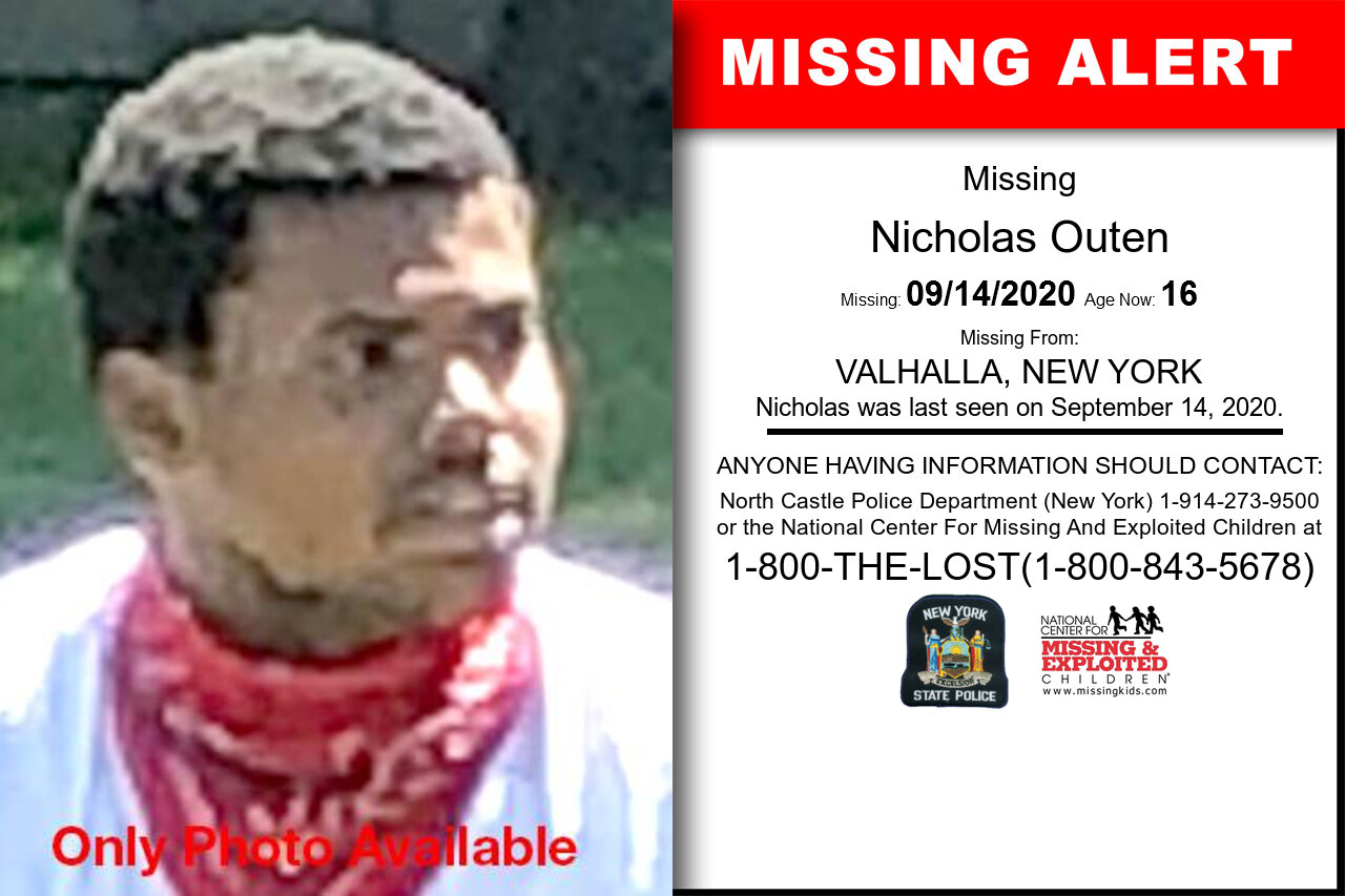 Nicholas_Outen missing in New_York