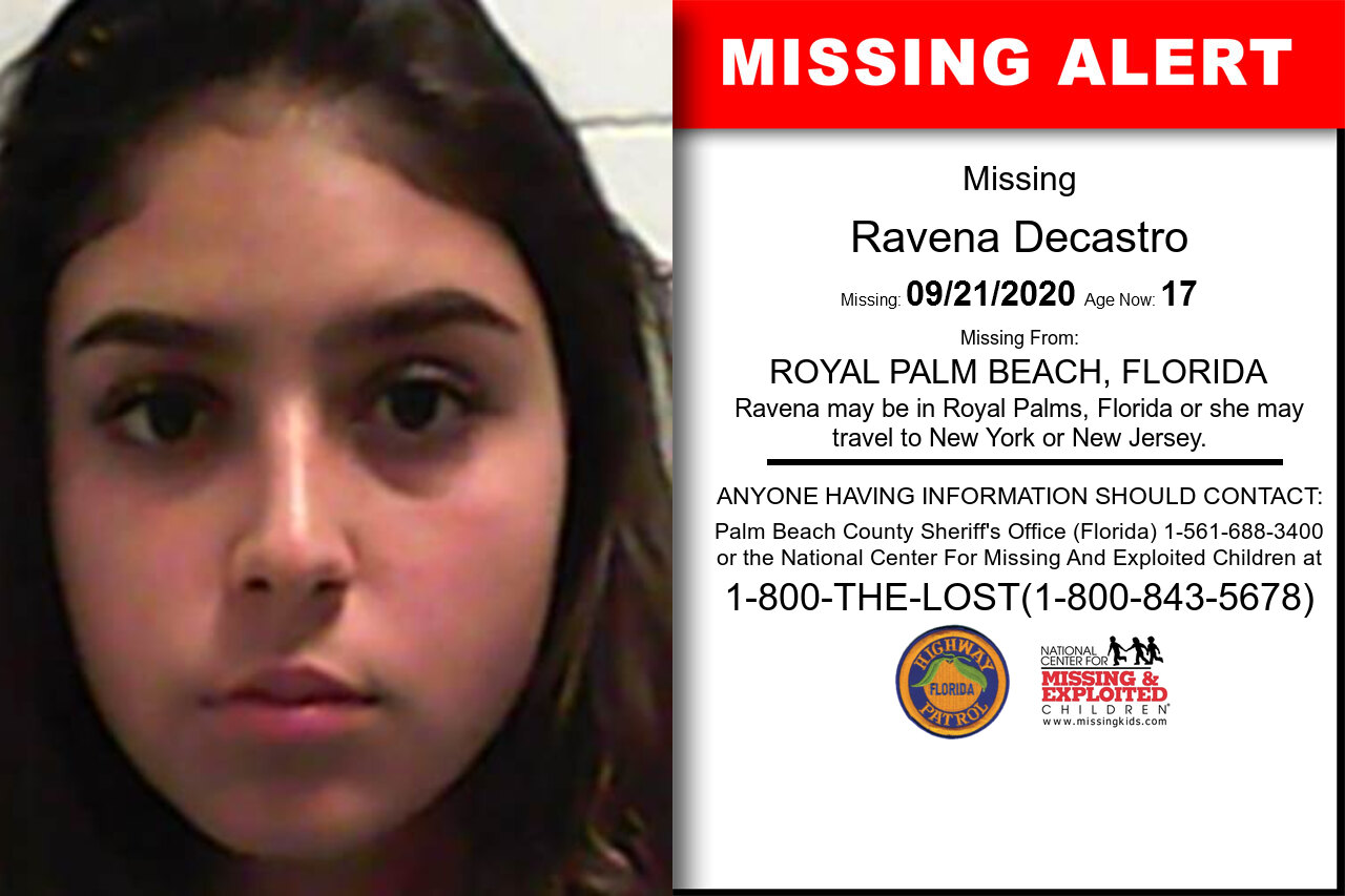 Ravena_Decastro missing in Florida