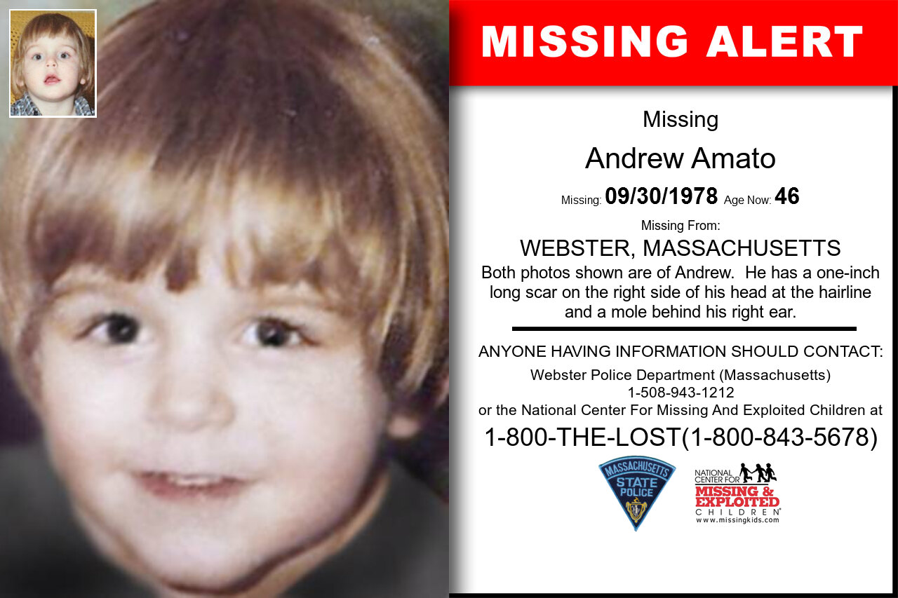 ANDREW_AMATO missing in Massachusetts