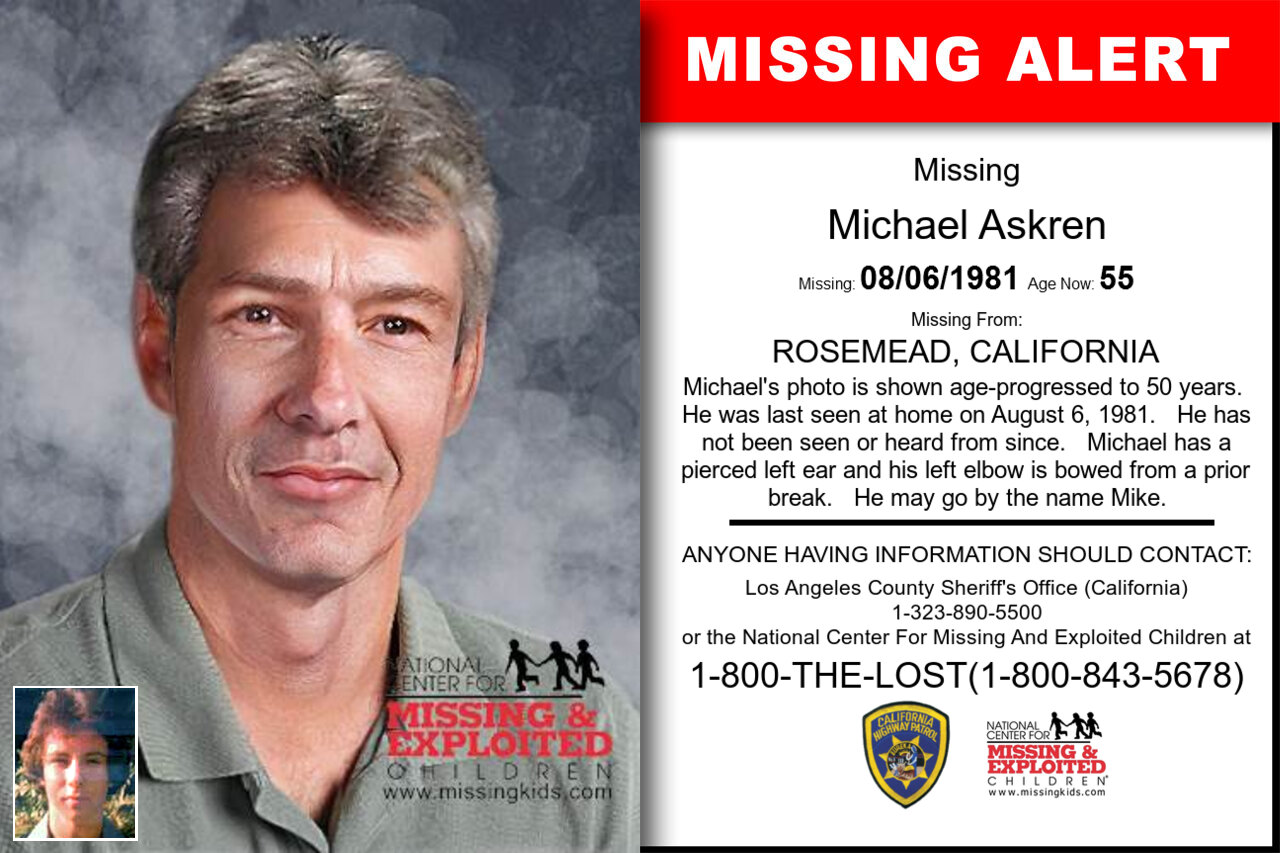 Michael_Askren missing in California