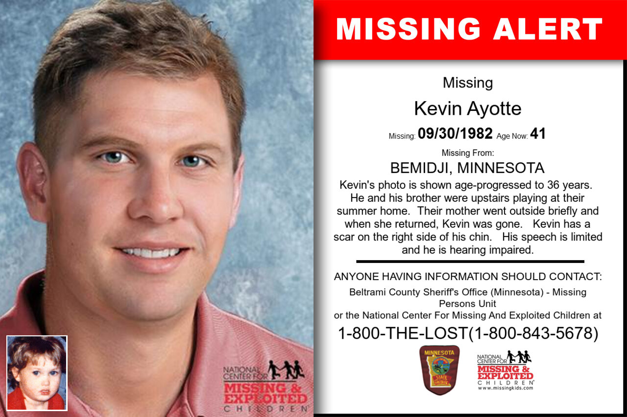 KEVIN_AYOTTE missing in Minnesota