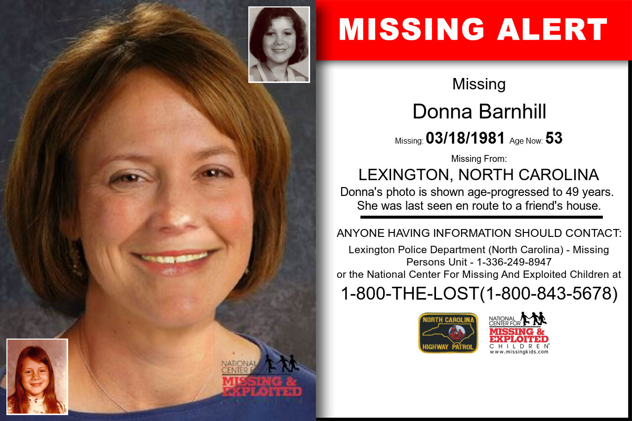 DONNA_BARNHILL missing in North_Carolina