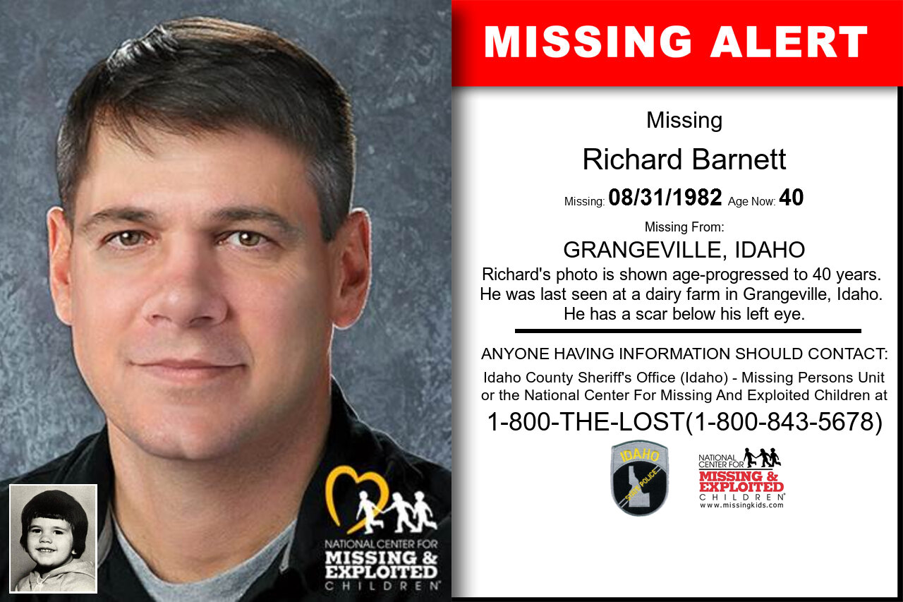 RICHARD_BARNETT missing in Idaho
