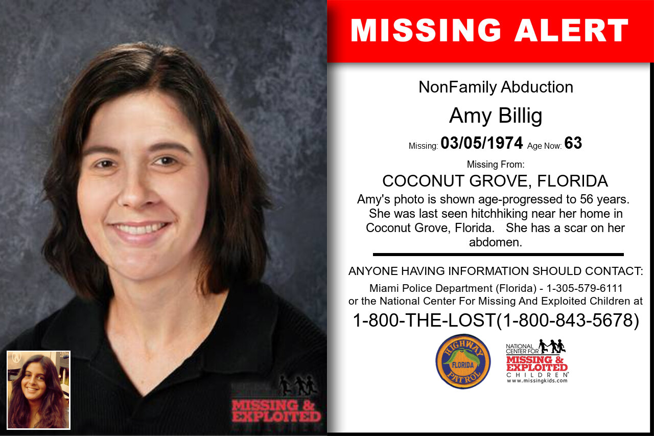 AMY_BILLIG missing in Florida