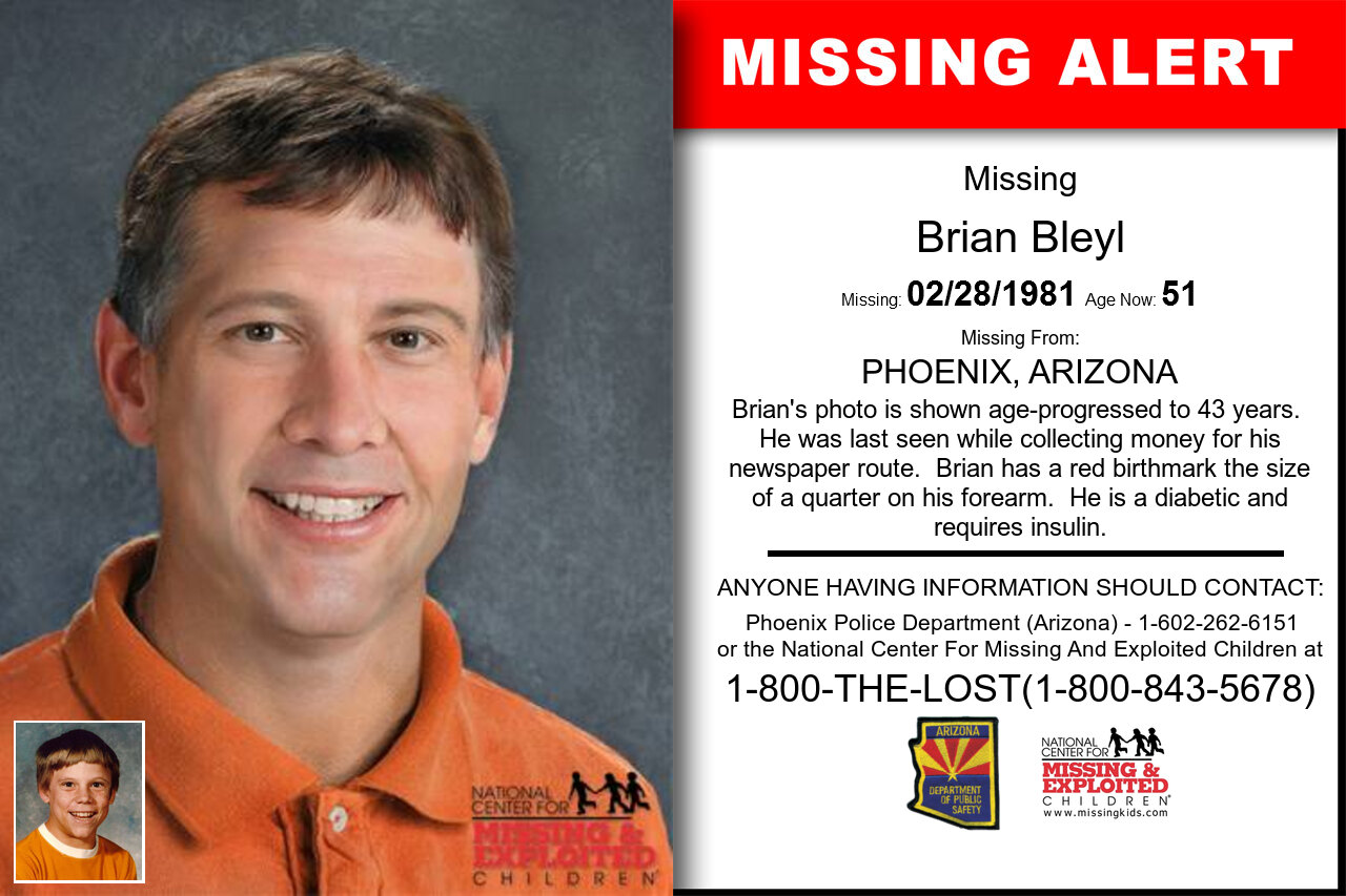BRIAN_BLEYL missing in Arizona