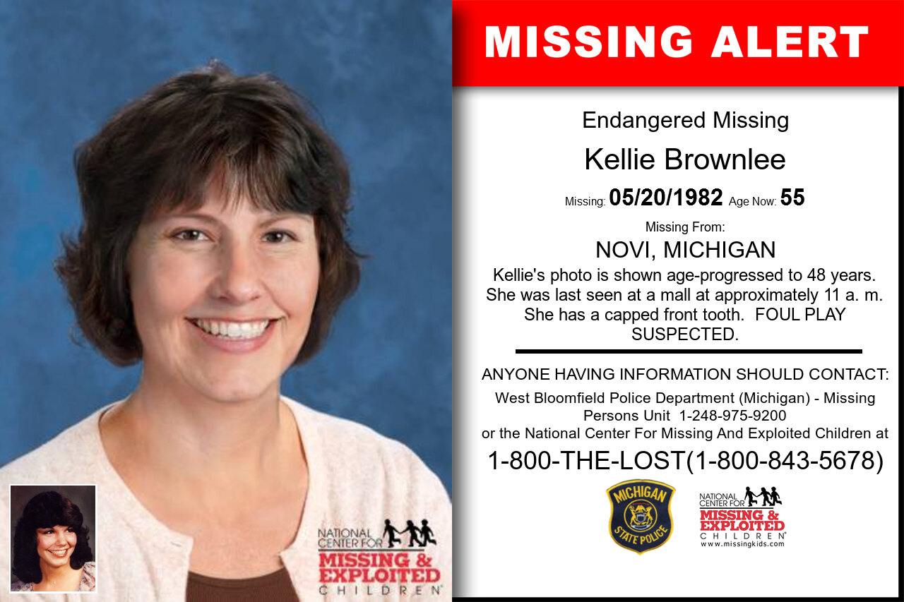 KELLIE_BROWNLEE missing in Michigan
