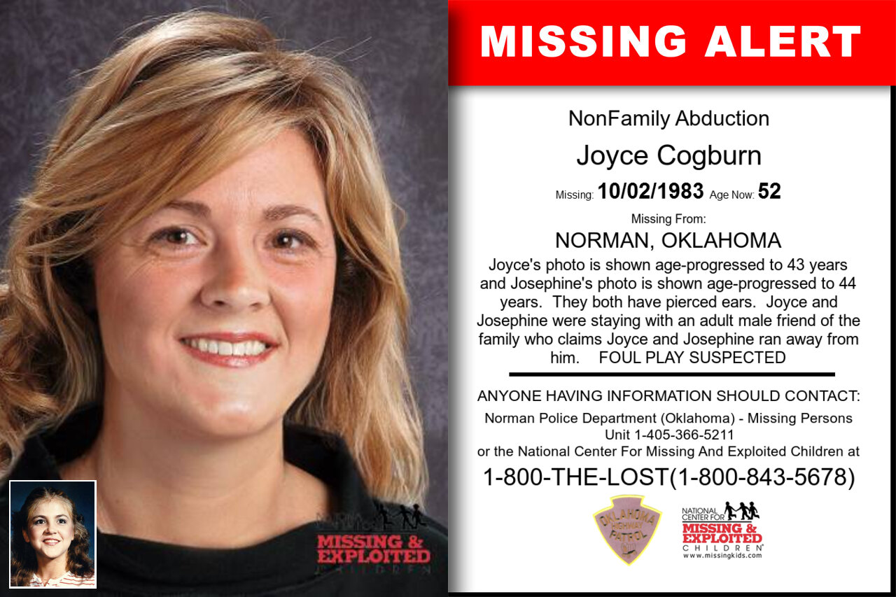 JOYCE_COGBURN missing in Oklahoma