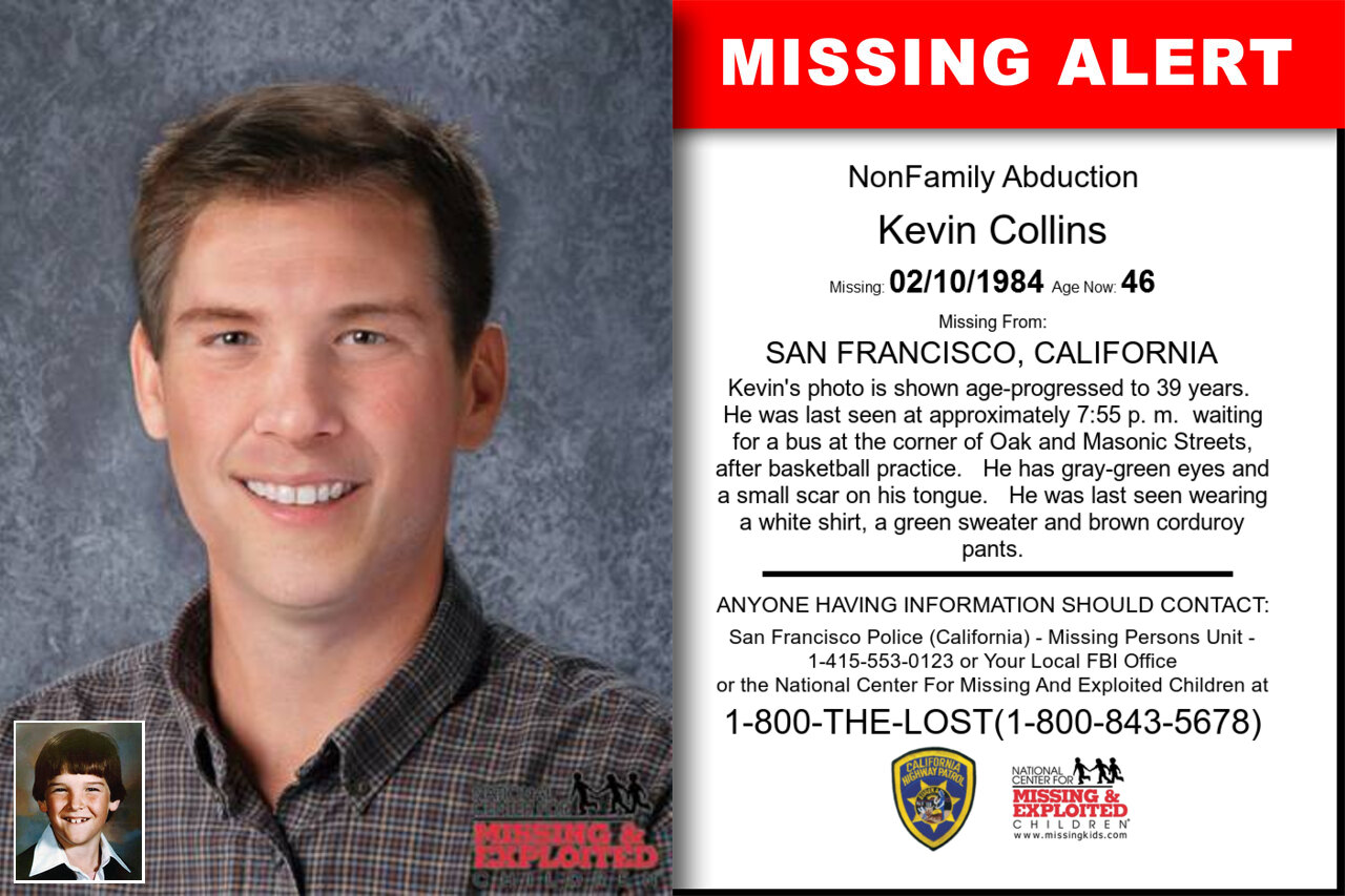 KEVIN_COLLINS missing in California