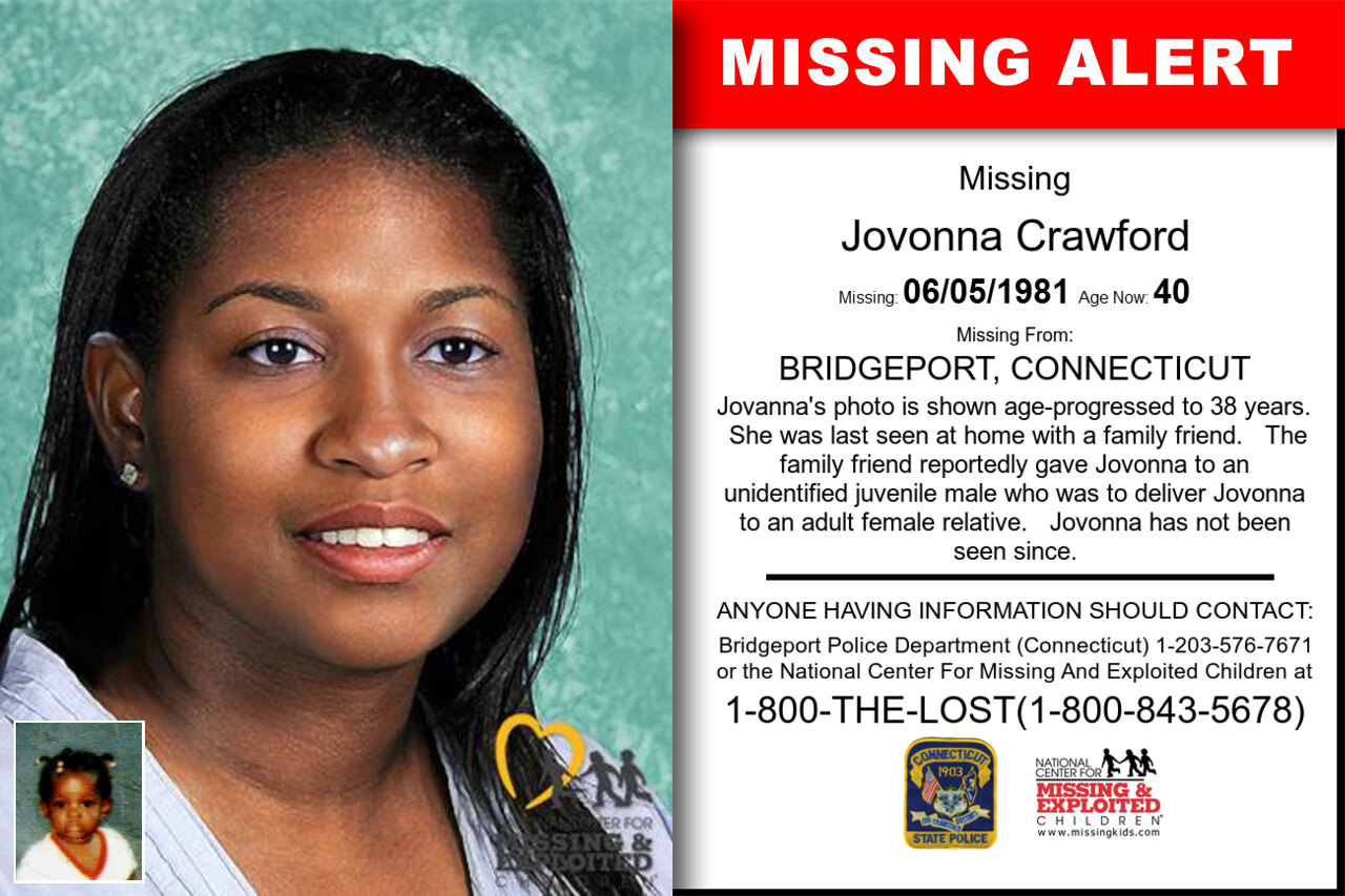 Jovonna_Crawford missing in Connecticut