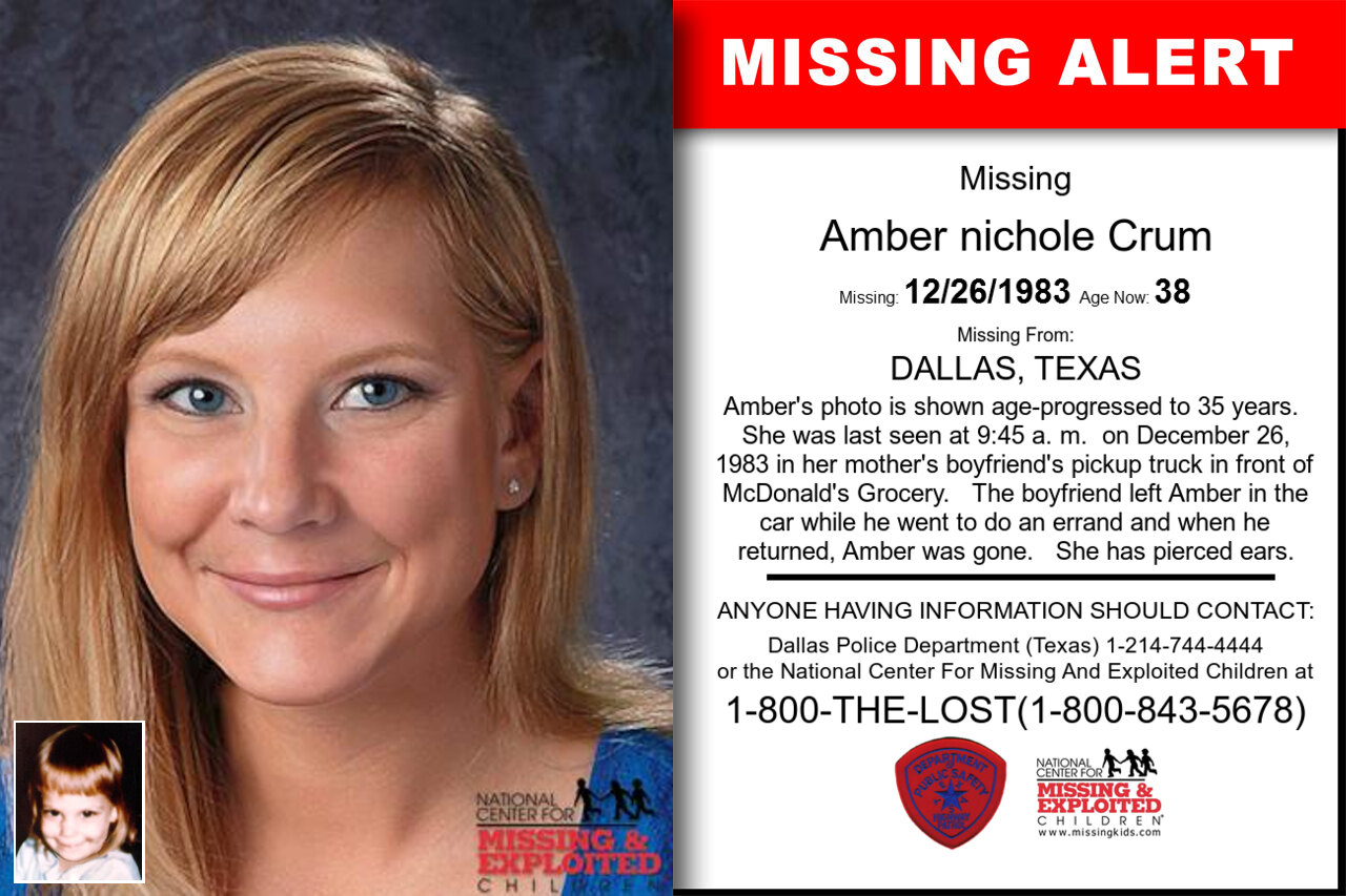 Amber_nichole_Crum missing in Texas