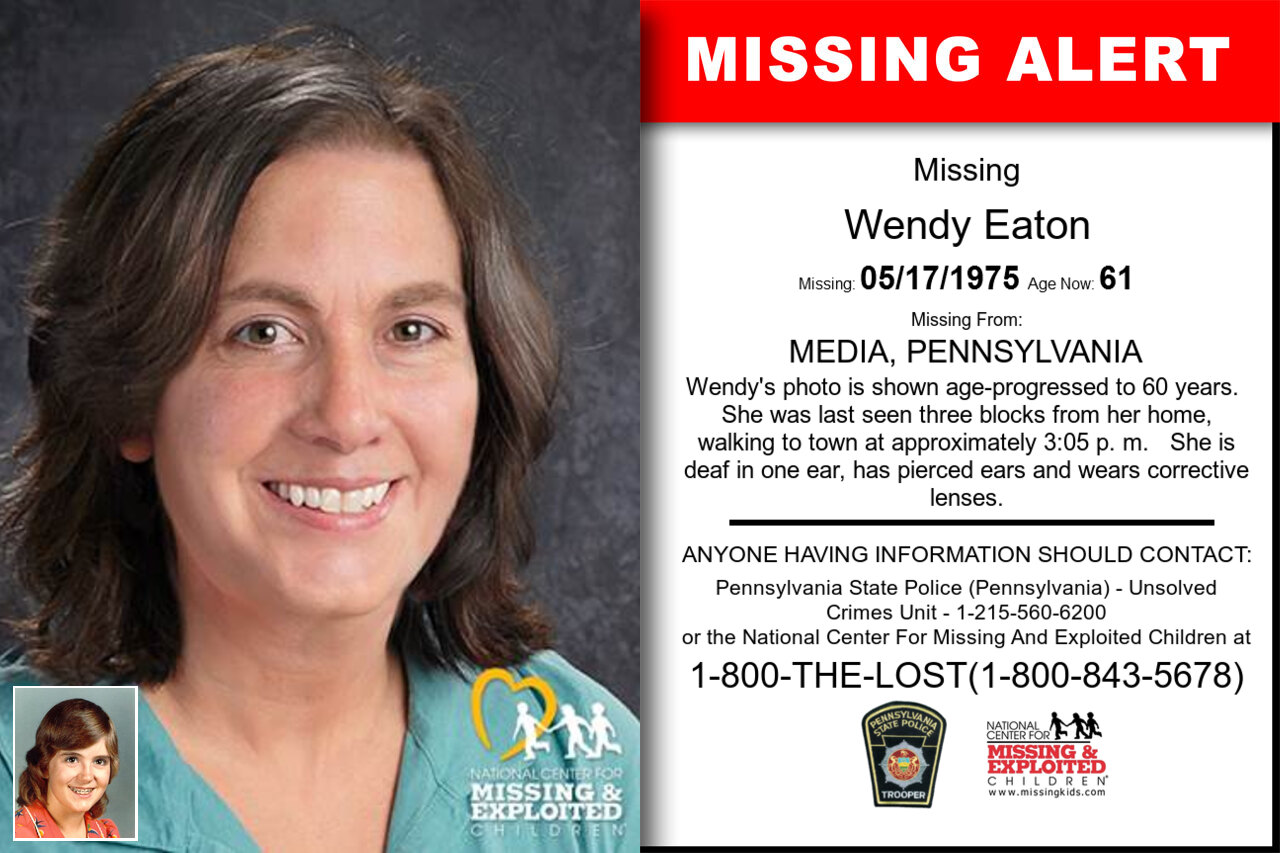 WENDY_EATON missing in Pennsylvania