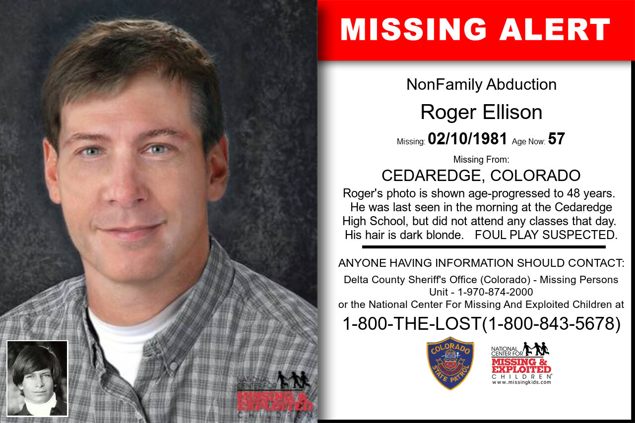ROGER_ELLISON missing in Colorado