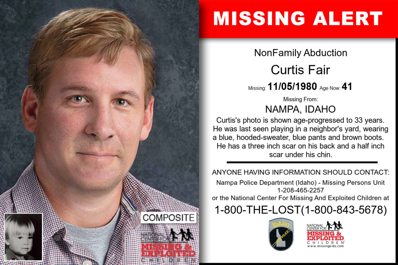 Curtis_Fair missing in Idaho