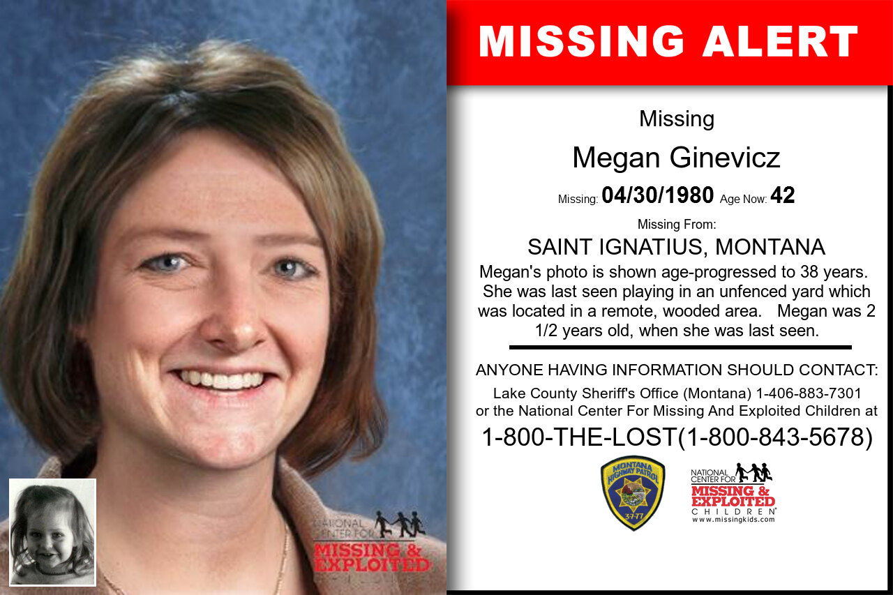 MEGAN_GINEVICZ missing in Montana