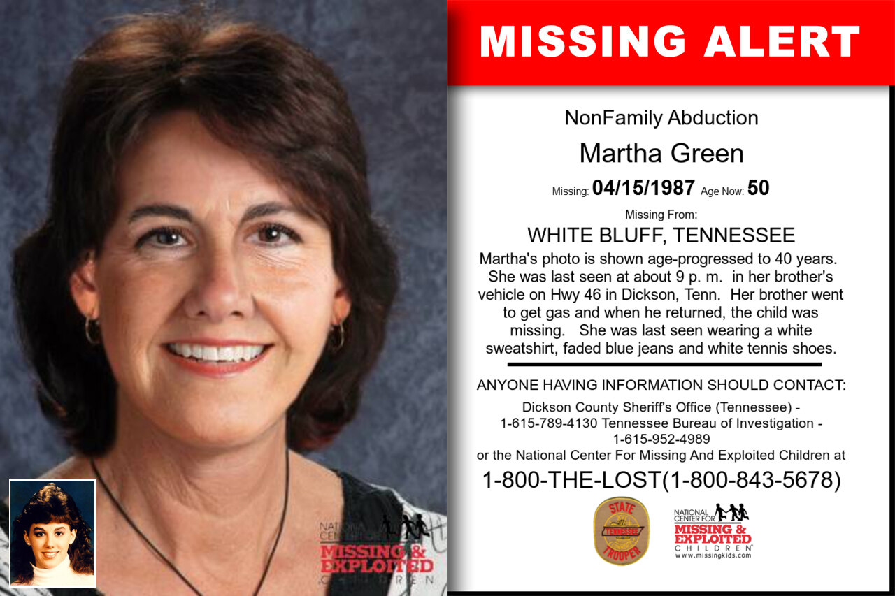 MARTHA_GREEN missing in Tennessee