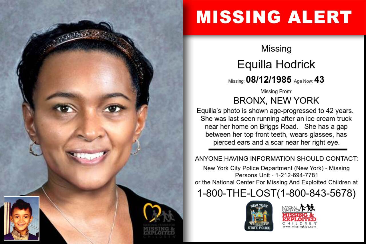 EQUILLA_HODRICK missing in New_York