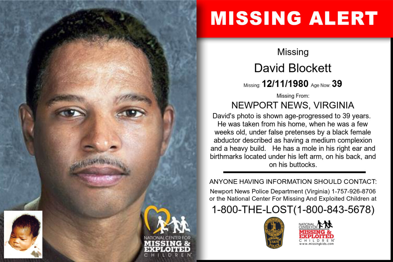 David_Blockett missing in Virginia