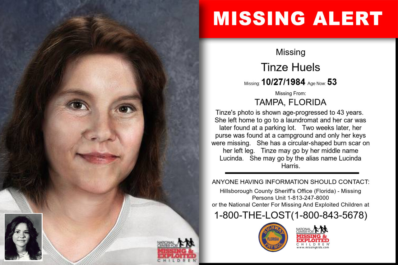TINZE_HUELS missing in Florida