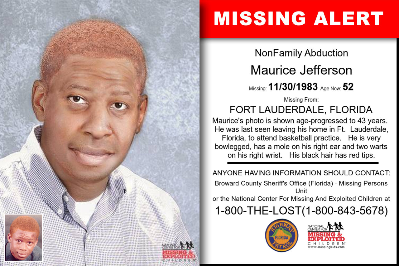 Maurice_Jefferson missing in Florida