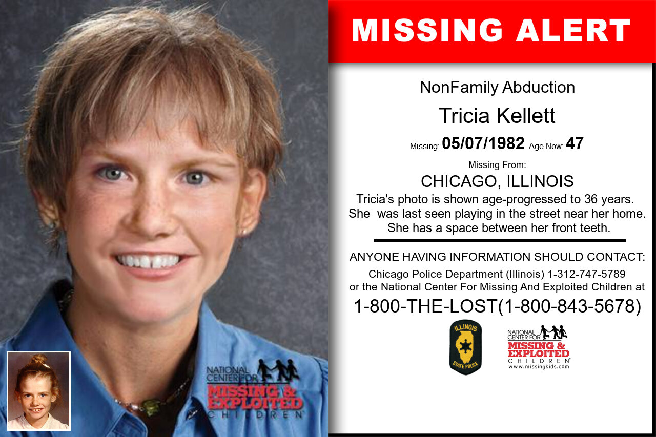 Tricia_Kellett missing in Illinois