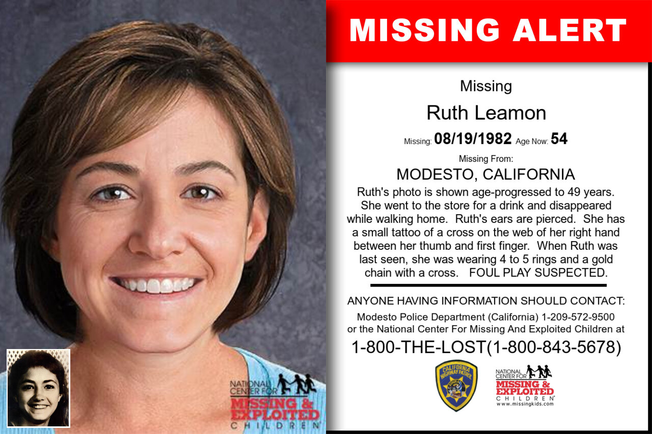 Ruth_Leamon missing in California