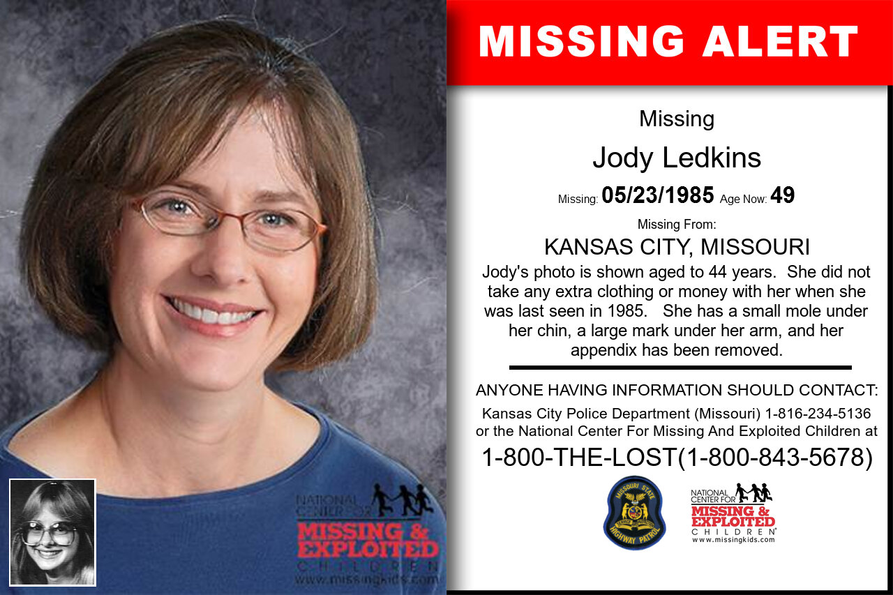 JODY_LEDKINS missing in Missouri