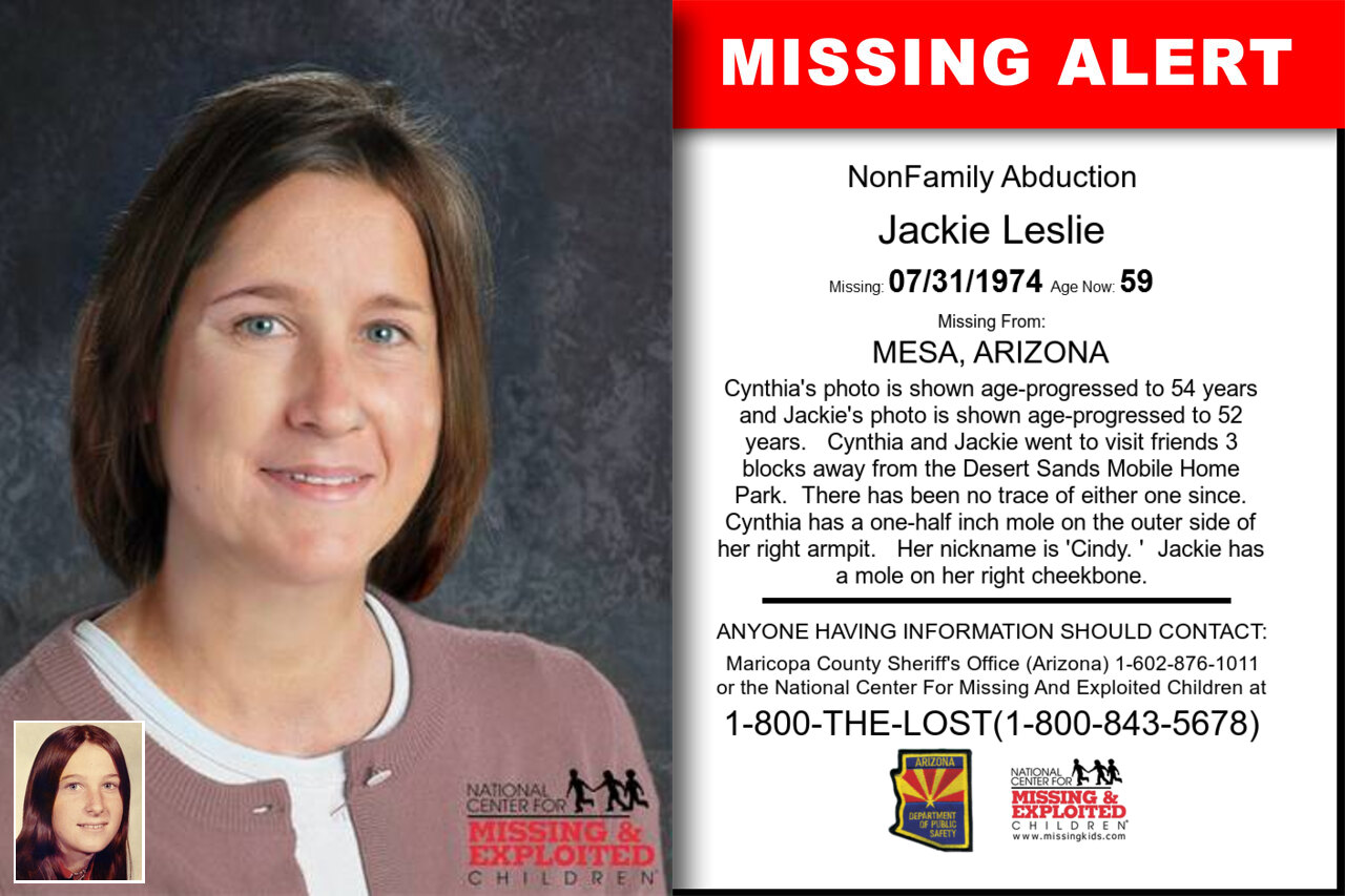 JACKIE_LESLIE missing in Arizona