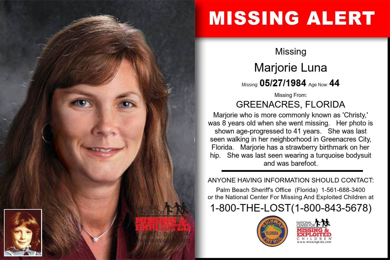Marjorie_Luna missing in Florida