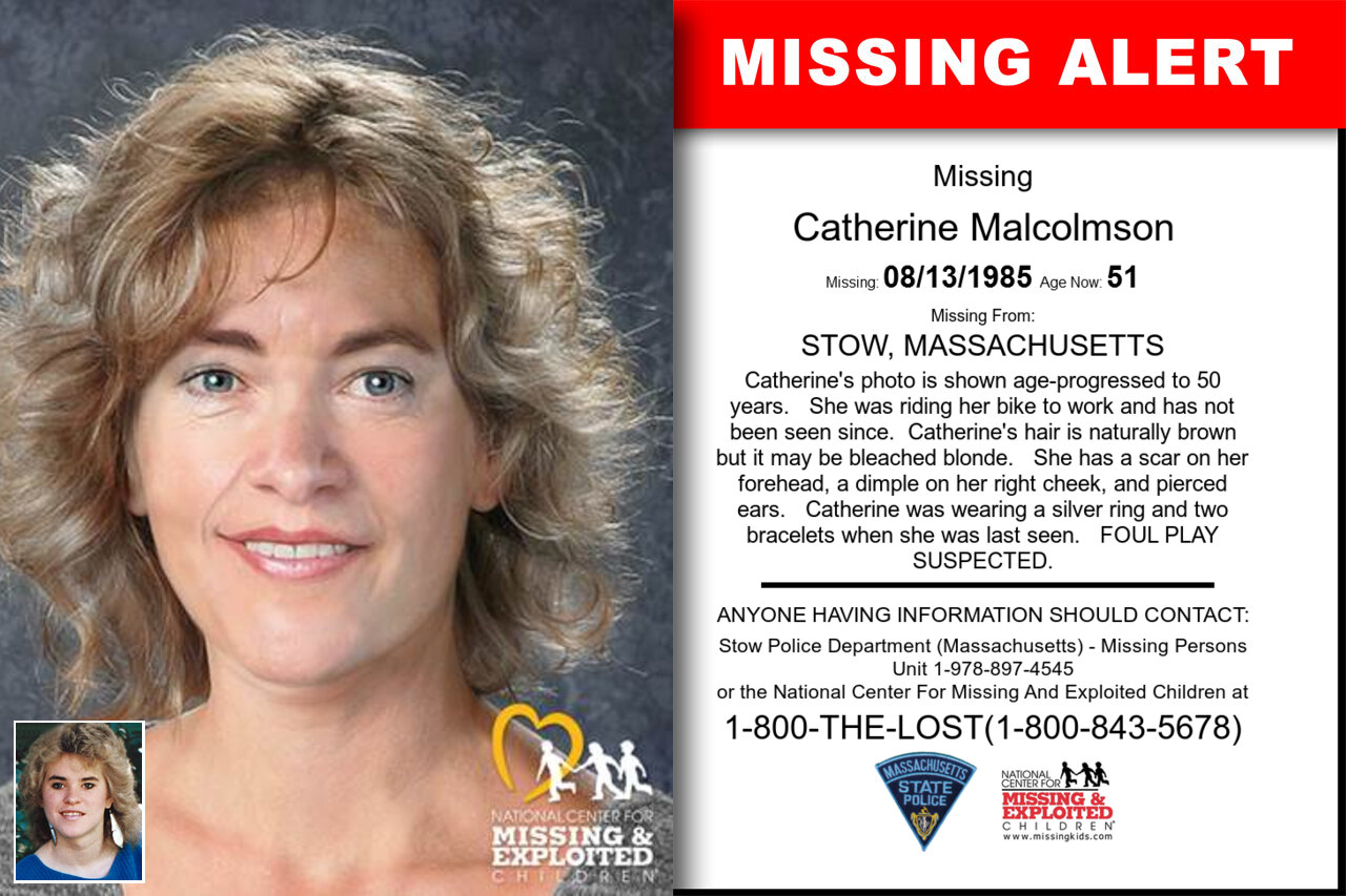 Catherine_Malcolmson missing in Massachusetts