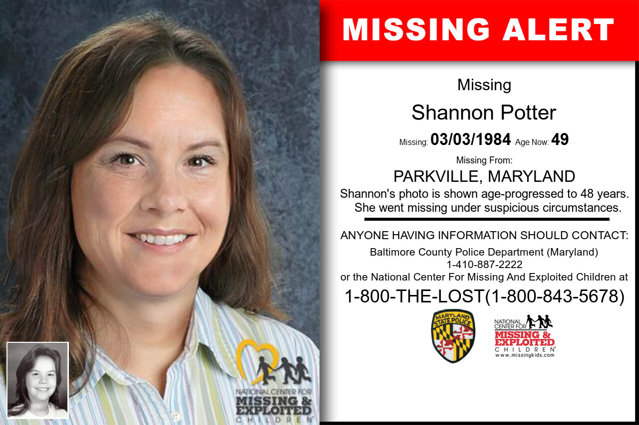 SHANNON_POTTER missing in Maryland