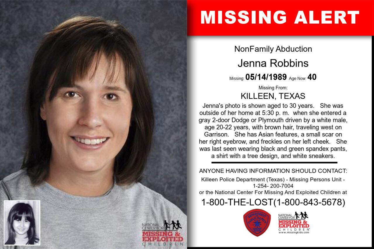 Jenna_Robbins missing in Texas