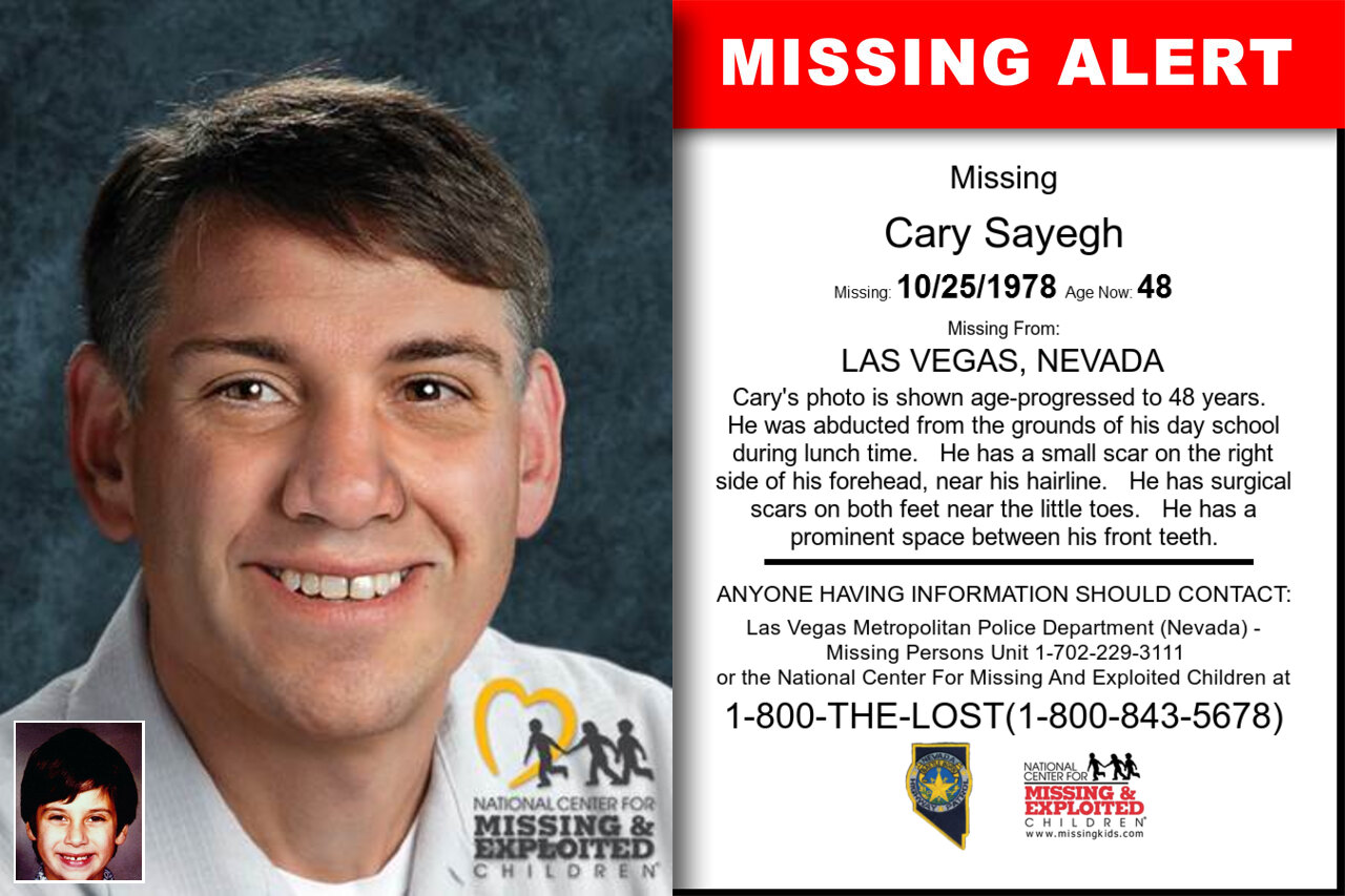 Cary_Sayegh missing in Nevada