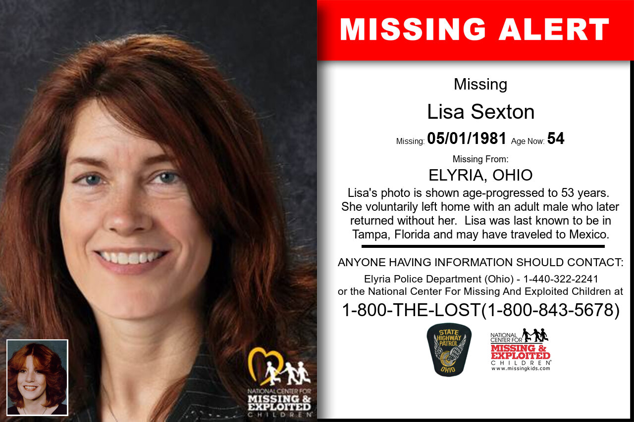 LISA_SEXTON missing in Ohio