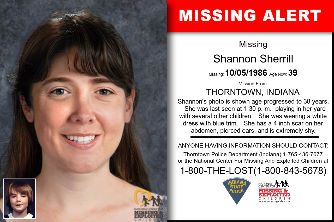 SHANNON_SHERRILL missing in Indiana