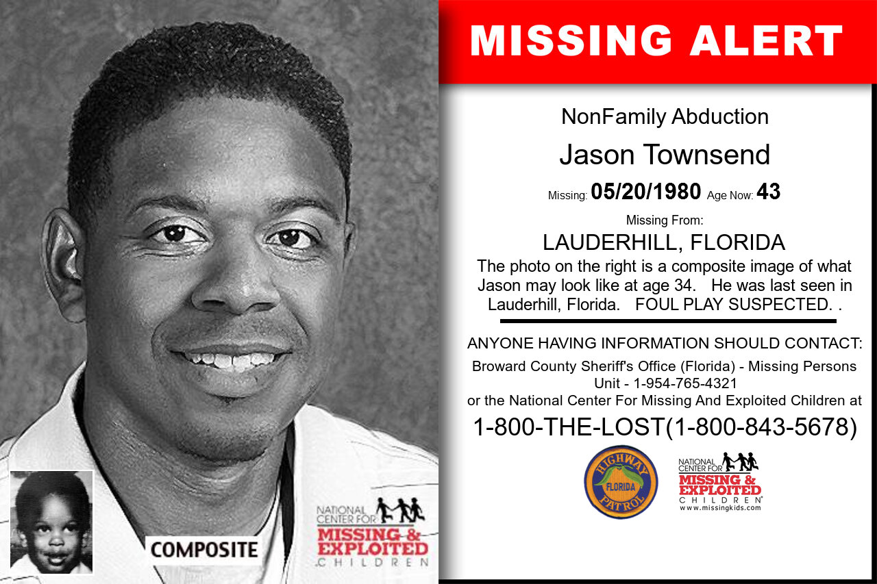 JASON_TOWNSEND missing in Florida