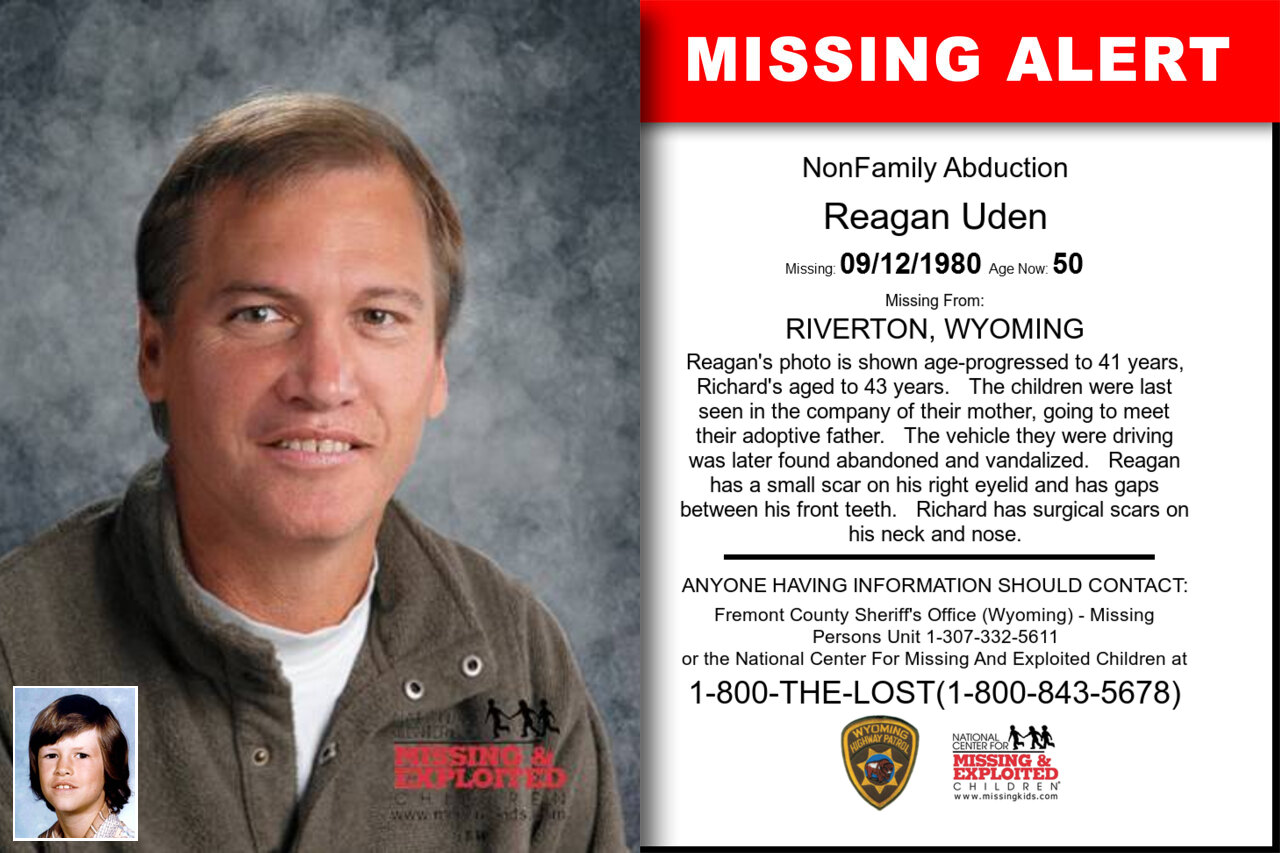 REAGAN_UDEN missing in Wyoming