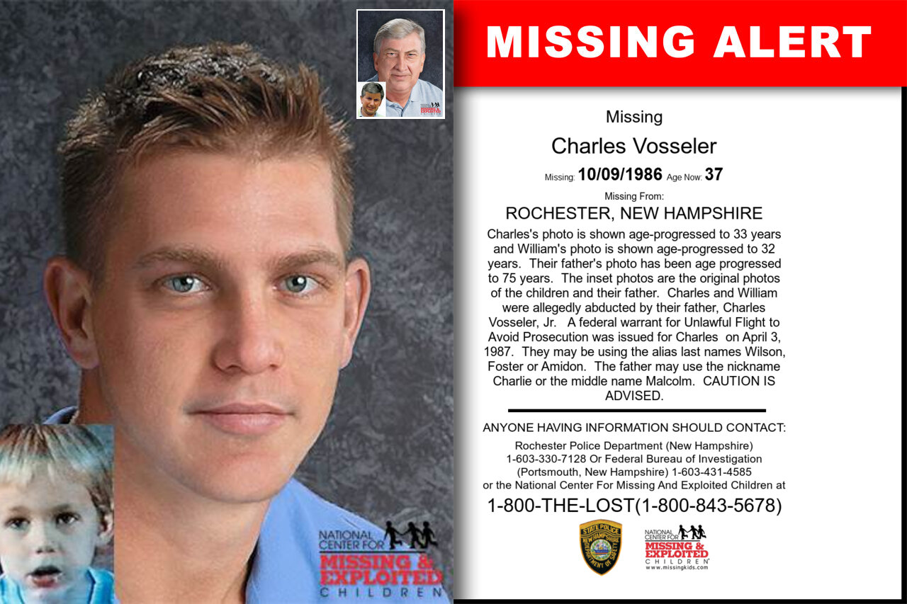 Charles_Vosseler missing in New_Hampshire