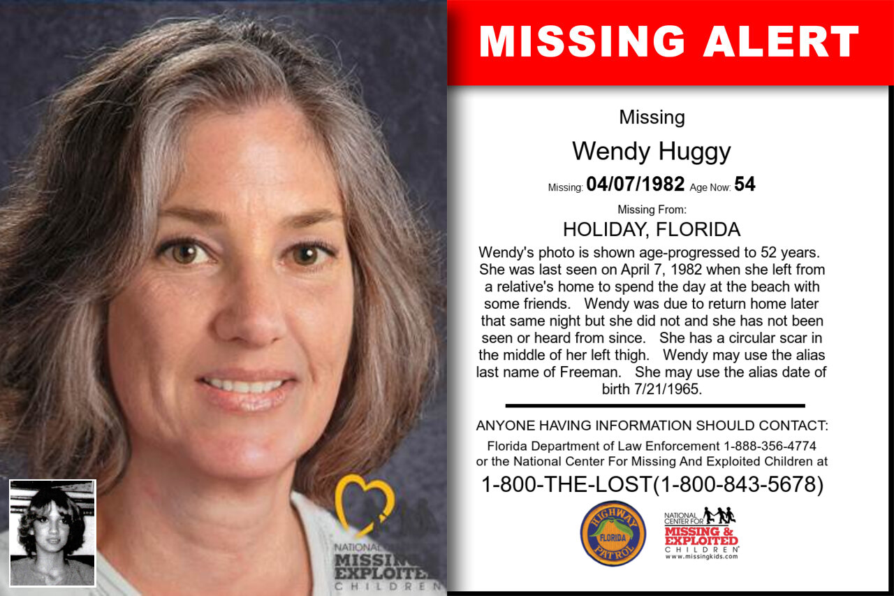 Wendy_Huggy missing in Florida