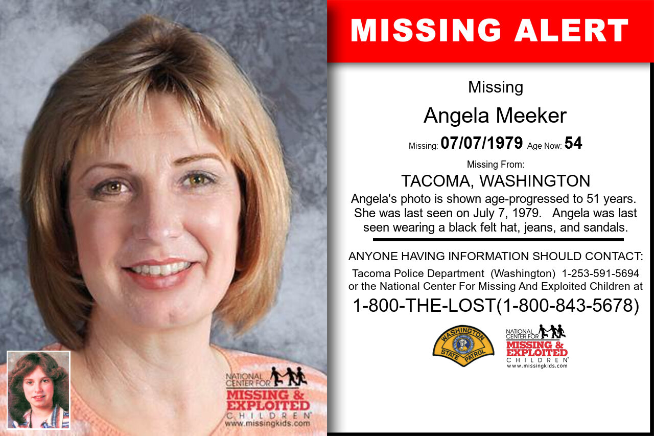 Angela_Meeker missing in Washington