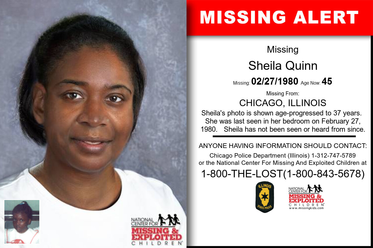SHEILA_QUINN missing in Illinois