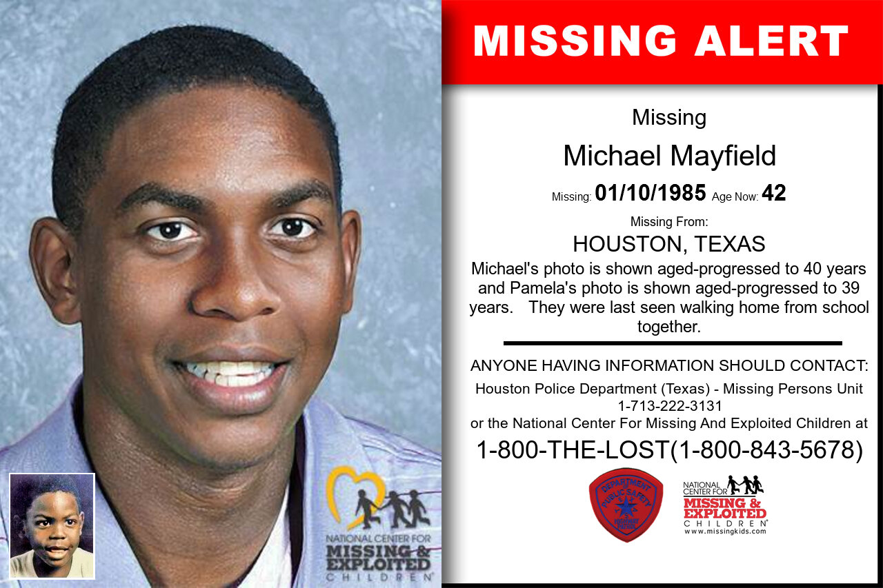 Michael_Mayfield missing in Texas