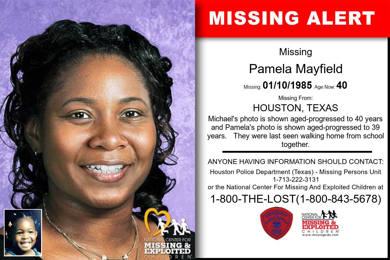 PAMELA_MAYFIELD missing in Texas