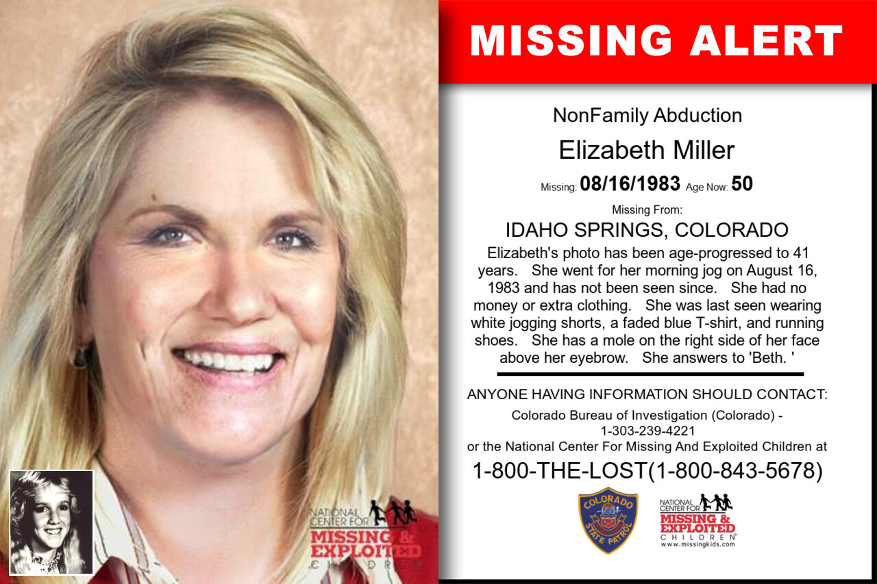 Elizabeth_Miller missing in Colorado