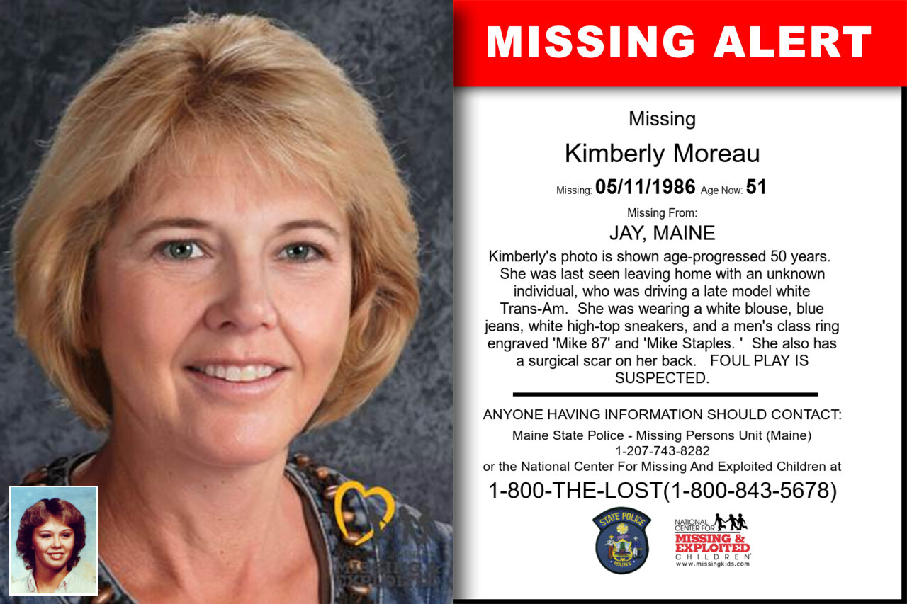 KIMBERLY_MOREAU missing in Maine