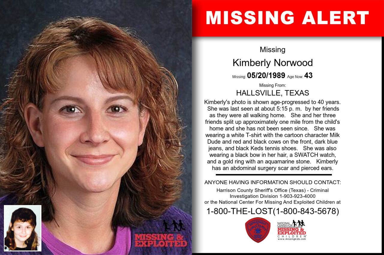 Kimberly_Norwood missing in Texas