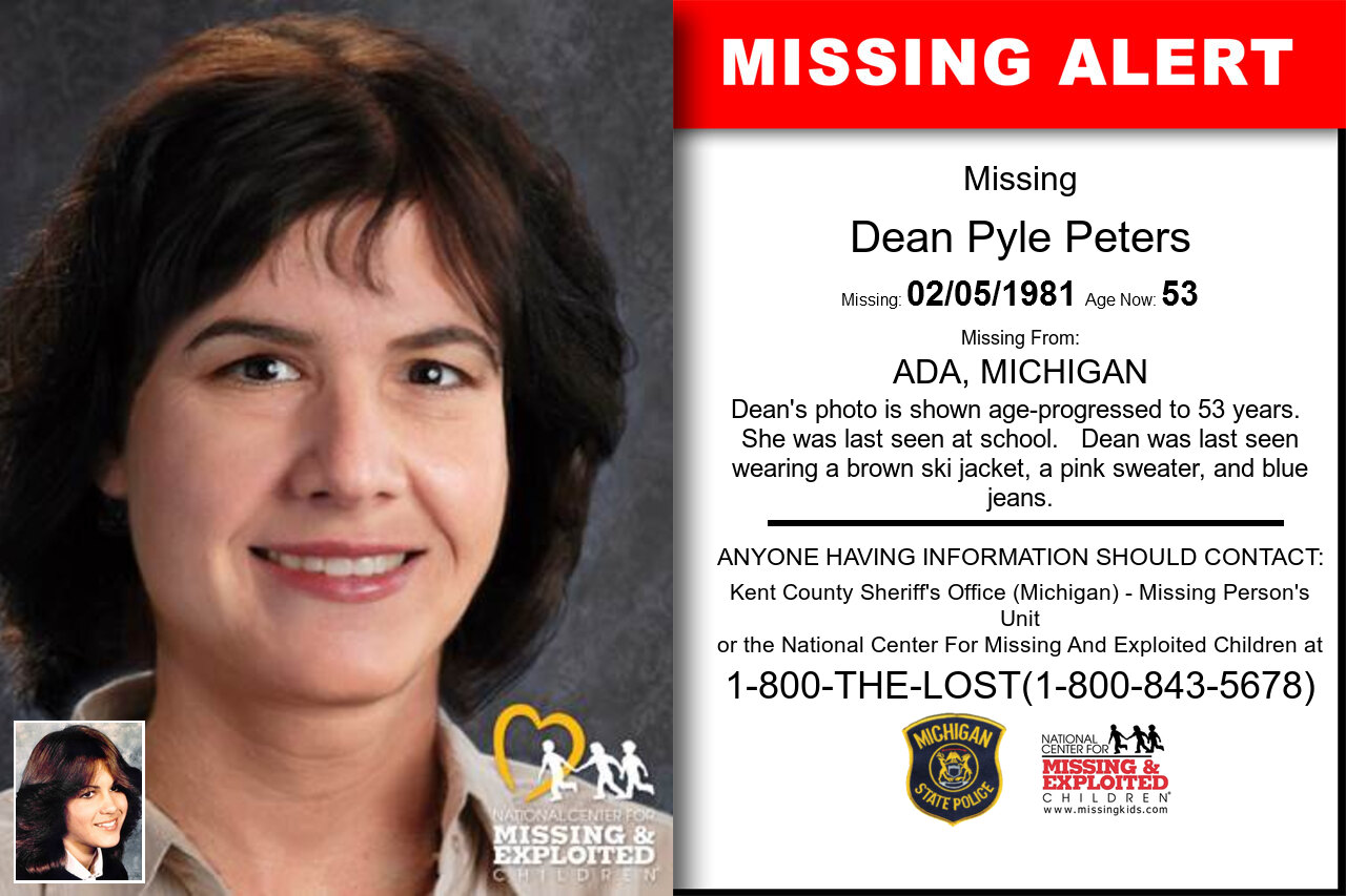 DEAN_PYLE_PETERS missing in Michigan