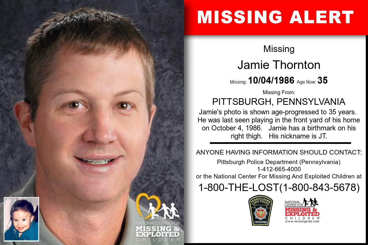 Jamie_Thornton missing in Pennsylvania