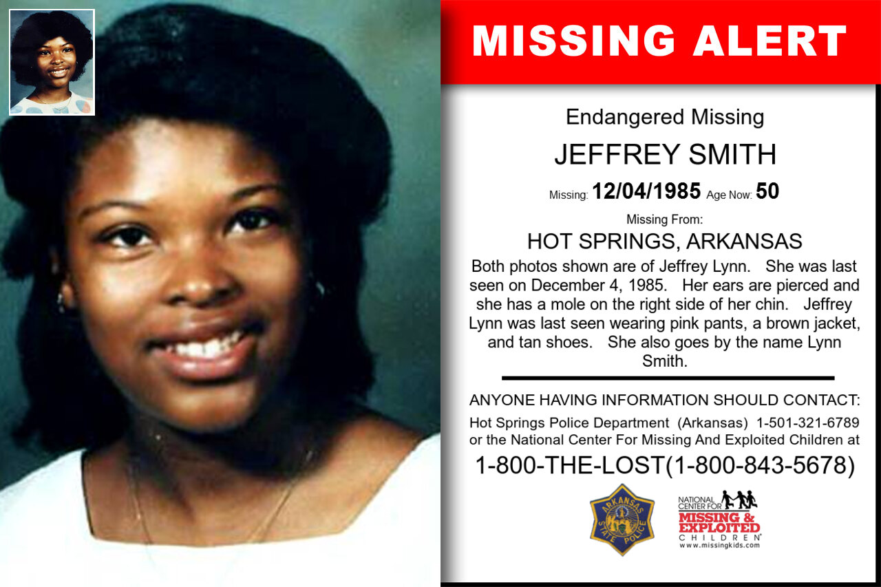 JEFFERY_SMITH missing in Arkansas